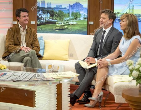 Garth Hovell, Zimbabwean game guide and former hunter with Ben Shephard and Kate Garraway