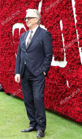 Actor Alan Rickman arriving at Goodwood Qatar Goodwood Festival 2015 Racingfotos.com-Megan Ridgwell