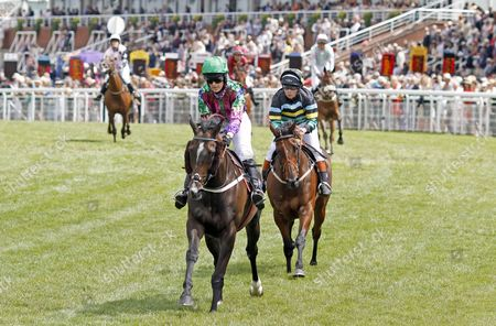 In control, CAMILLA HENDERSON wins The Magnolia Cup on HIGH FIDELITY (See The Storm) Goodwood