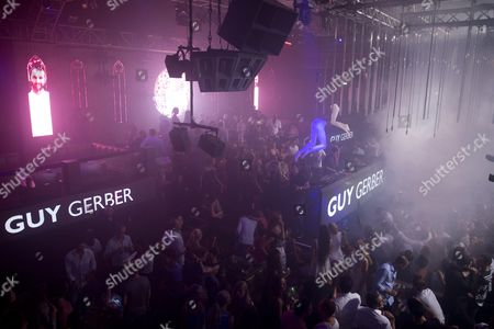 Editorial photo of DJ Guy Gerber performs at Gotha Club nightclub, Palm Beach Cannes, France - 24 Jul 2015