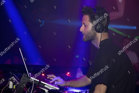 Editorial image of DJ Guy Gerber performs at Gotha Club nightclub, Palm Beach Cannes, France - 24 Jul 2015