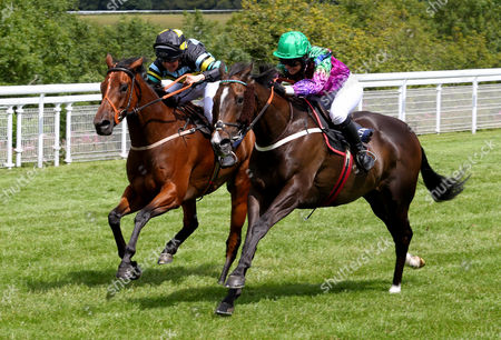 High Fidelity and Camilla Henderson winning The Magnolia Cup from Armell Goodwood