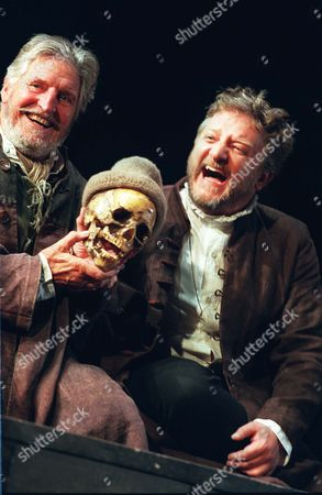 L to R  Denis Quilley Simon Russell Beale