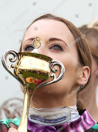 Camilla Henderson after Winning The Magnolia Cup The Goodwood Ladies' Race Qatar Goodwood Festival 2015 Racingfotos.com-Megan Ridgwell