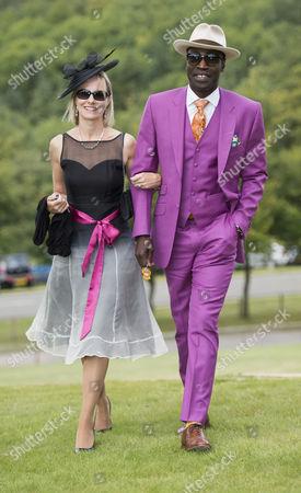 Alison Bridges and Reggie Ansah