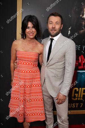 Rebecca Yeldham and Joel Edgerton