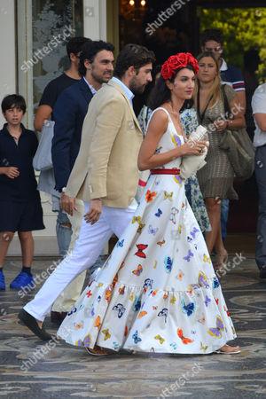 Carlo Ludovico Borromeo and Marta Ferri