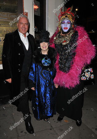 Stock Image of Guest, Molly Parkin and Daniel Lismore
