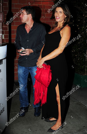 Editorial picture of Elisabetta Canalis and Brian Perri out and about, Los Angeles, America - 30 Jul 2015