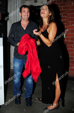 Editorial image of Elisabetta Canalis and Brian Perri out and about, Los Angeles, America - 30 Jul 2015