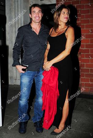 Brian Perri and Elisabetta Canalis