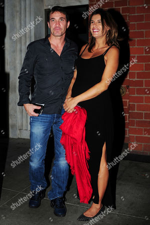 Stock Picture of Brian Perri and Elisabetta Canalis