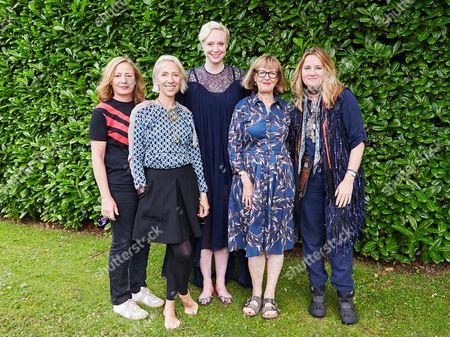 Michelle Clapton, Gwendoline Christie, Gemma Jackson, Catherine St Germans and Sarah Mower