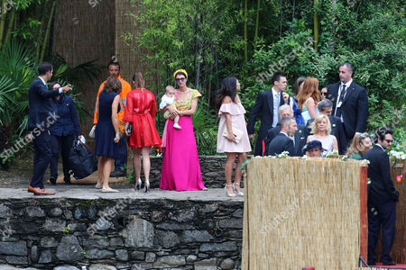 Marta Ferri and guests