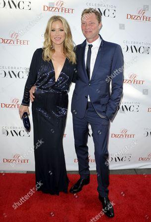 Christina Applegate and Martyn LeNoble