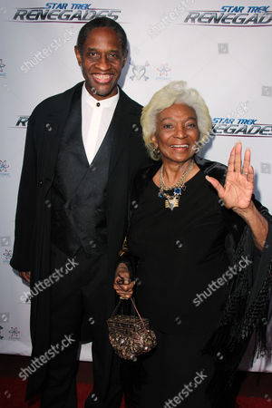 Stock Picture of Tim Russ, Nichelle Nichols