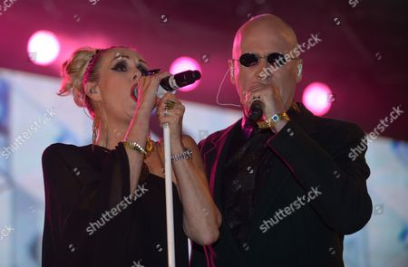 Susan Ann Sulley and Phil Oakey