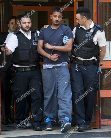 Editorial picture of Man Who Was Arrested For Allegedly Masturbating During The Hearing Of Omar Khyami Former Boyfriend To Tamara Ecclestone At West London Magistrates Court. Khyami Was Charged With The Theft Of Items Of Jewellery From Ms. Ecclestone.