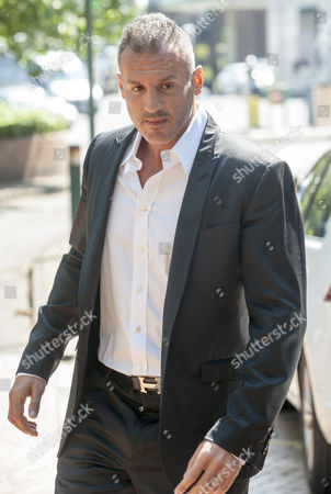 Stock Picture of Omar Khyami Former Boyfriend To Tamara Ecclestone Arrives At West London Magistrates Court Where Was Charged With The Theft Of Items Of Jewellery From Ms. Ecclestone.