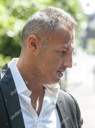 Editorial photo of Omar Khyami Former Boyfriend To Tamara Ecclestone Arrives At West London Magistrates Court Where Was Charged With The Theft Of Items Of Jewellery From Ms. Ecclestone.