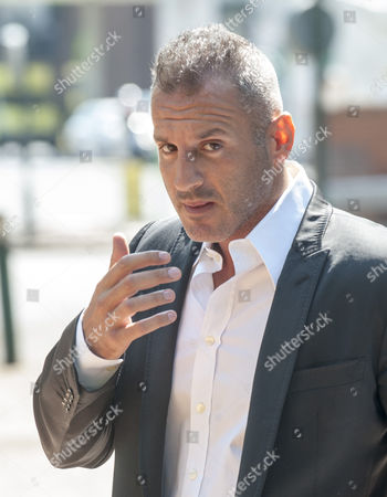 Stock Image of Omar Khyami Former Boyfriend To Tamara Ecclestone Arrives At West London Magistrates Court Where Was Charged With The Theft Of Items Of Jewellery From Ms. Ecclestone.