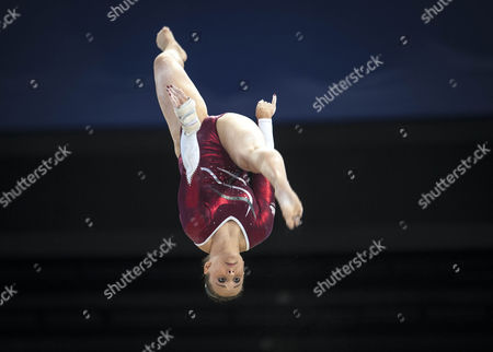 Stock Image of Hannah Whelan At The Cwg In Glasgow. July 30th 2014 - Glasgow UK. Commonwealth Games