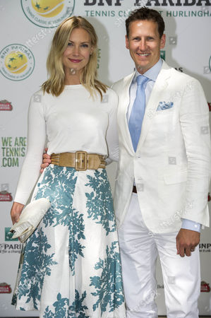 Bnp Parabis Tennis Classic At The Hurlingham Club Fulham London. Brendon Cole And His Wife Zoe.