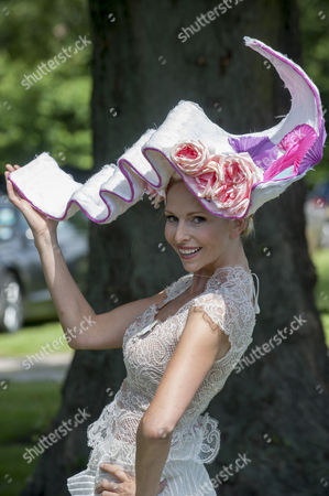 Anneka Tanaka-svenska With Her Hat On The First Day Of Royal Ascot. 17.6.14 Reporter Claire Ellicott.
