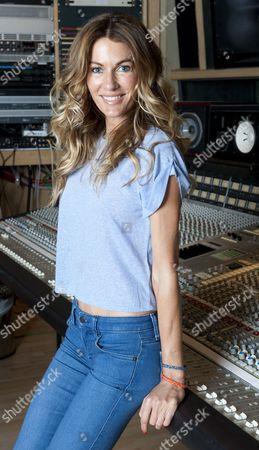 Kirsty Bertarelli At The Metropolis Recording Studios In Chiswick London For Jane Fryer Interview. Picture Murray Sanders.