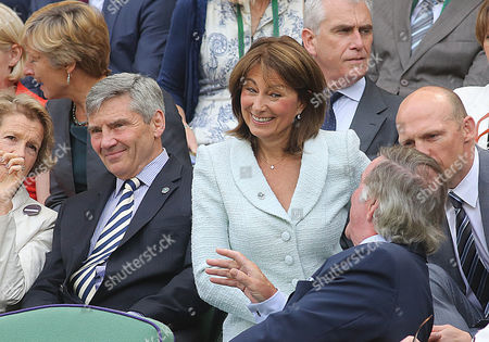 Carole Middleton In The Royal Box With Terry Wogan.
