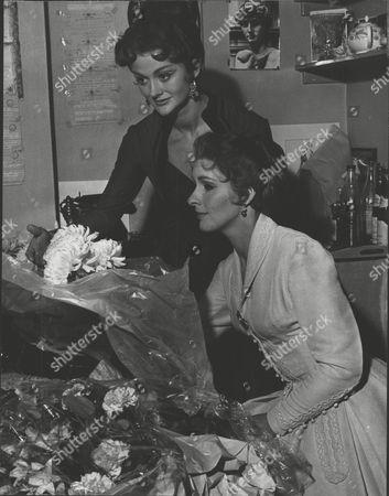 Actress Sally Home (right) And Ann Todd. Box 0607 050315 00233a.jpg.