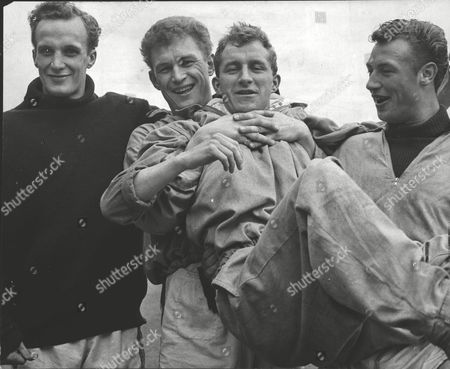 Leicester City F.c. Footballers (no Order) John Sjoberg Graham Cross Dave Gibson And Mike Stringfellow. Box 0606 13072015 00060a.jpg.