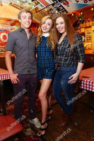Kevin Quinn, Peyton List, Miranda May