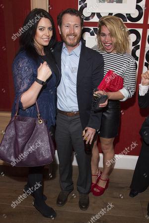 Jasmin Duran, Nick Moran and Billie Piper