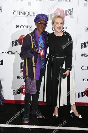 Bernie Worrell and Meryl Streep
