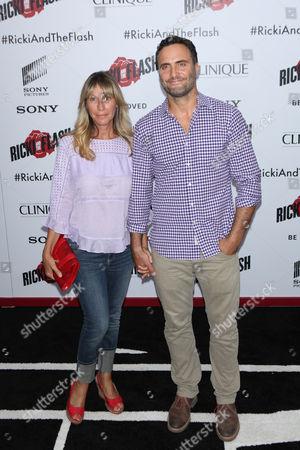Stock Image of Ilana Levine and Dominic Fumusa