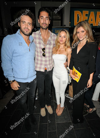 Spencer Matthews, Hugo Taylor, Natalie Joel and Lauren Frazer-Hutton