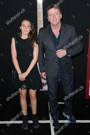 Stock Picture of Aidan Quinn and daughter Mia Quinn