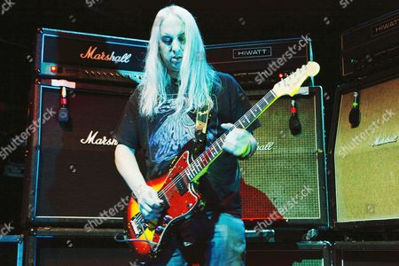J Mascis from the American alternative band Dinosaur Jnr performs at London's Koko on the 25th of September 2009 Ref: JRM - Non-Exclusive *World Rights Only* *Unbylined uses will incur an additional discretionary fee!*