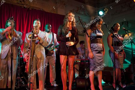 Soul singer Florence Rawlings performs at the Bush Hall on the 30th of July 2009 Ref: JRM - Non-Exclusive *World Rights Only* *Unbylined uses will incur an additional discretionary fee!*