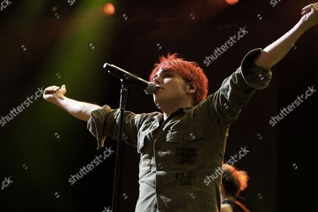 Stock Image of My Chemical Romance perform at the iTunes Festival at The Roundhouse, London, 09/07/11