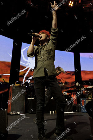 Stock Photo of My Chemical Romance perform at the iTunes Festival at The Roundhouse, London, 09/07/11