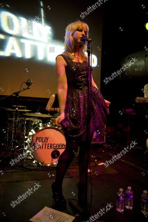 Stock Photo of Singer songwriter Polly Scattergood performs at Cargo in London's East End on the 15th of April 2009 Non-Exclusive *World Rights Only* *Unbylined uses will incur an additional discretionary fee!*