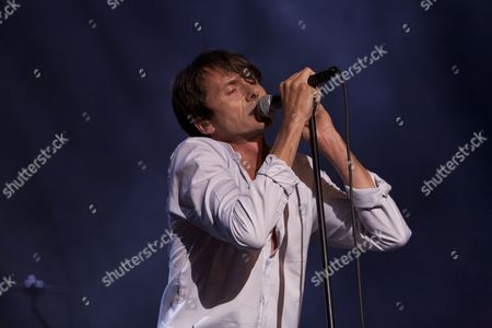 Suede perform their debut 1993 album 'Suede' at the O2 Brixton Academy in London 19/05/11