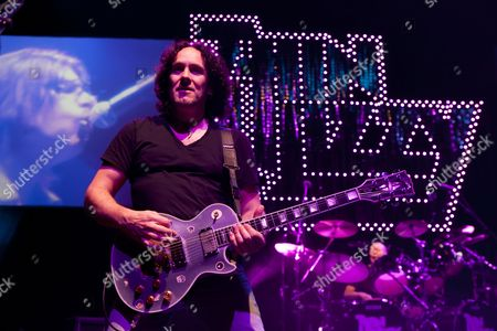 Classic Rock band Thin Lizzy perform at the O2 Indigo in London on the 23/01/11