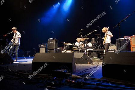 Scottish Rock band 'Twin Atlantic' support 'Gaslight Anthem' at the Brixton Academy on the 27th of June 2010
