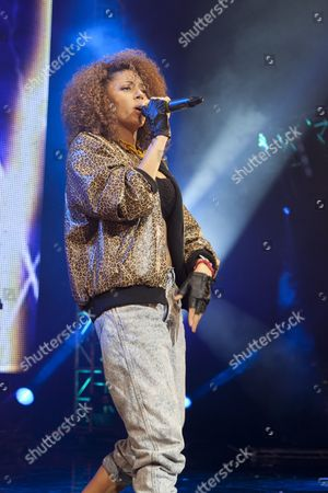 UK Female Allstar MC's perform at the BBC Radio1Xtra Live at O2 Brixton Academy 01 12 11
