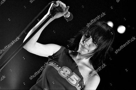 PJ Harvey performs at Corn Exchange, Cambridge, 2003