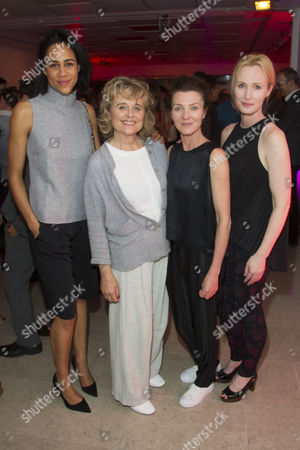 Zawe Ashton (Gilma), Sinead Cusack (Micheleine), Michelle Fairley (Genevieve) and Genevieve O'Reilly (Kathryn)
