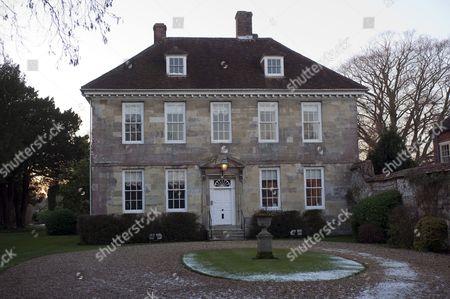 Arundells House in Salisbury, the former home of Sir Edward Heath.